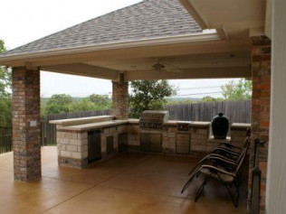 outdoor kitchens college station tx